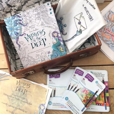 Zoe Sadler Colouring competition prizes