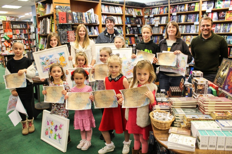 Zoe Sadler Colouring competition winners low res