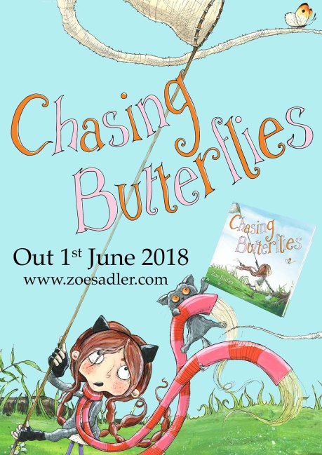 Chasing Butterflies Out Now poster